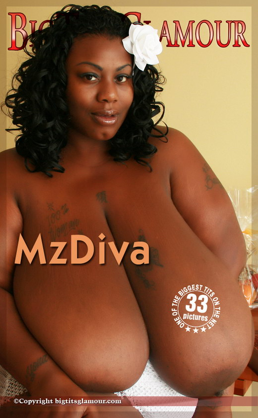 MzDiva - `Pure White` - for BIGTITSGLAMOUR