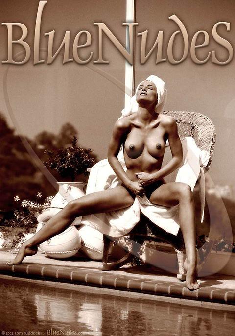 Eva Halina - `Poolside` - by Tom Ruddock for BLUENUDES