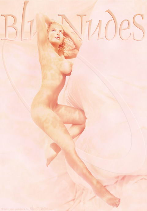 Brittany Andrews - `Sketching Brittany` - by Tom Ruddock for BLUENUDES