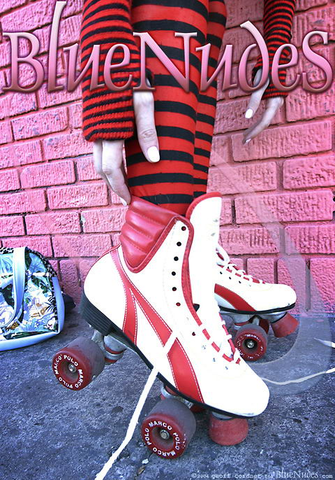 Empress - `Roller Girl` - by Geoff Cordner for BLUENUDES