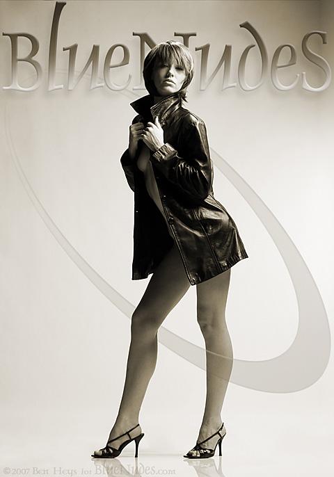 Linda Moore - `Jacket` - by Ben Heys for BLUENUDES