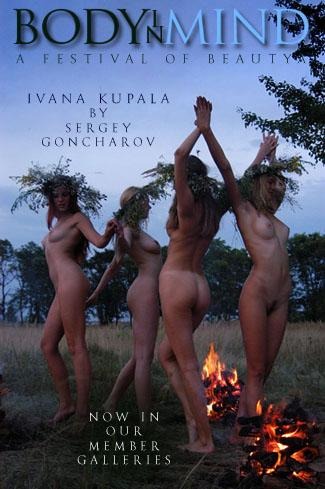 Tetyana & Viktusya & Katja & Margarita - `Ivana Kupala` - by Sergey Goncharov for BODYINMIND