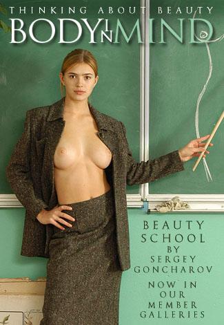 Viktusya - `Beauty School` - by Sergey Goncharov for BODYINMIND