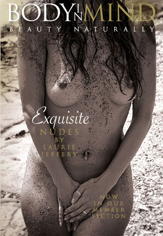 Jeanette - `Exquisite Nudes` - by Laurie Jeffery for BODYINMIND