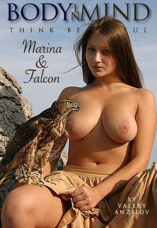 Marina - `Marina & Falcon` - by Valery Anzilov for BODYINMIND