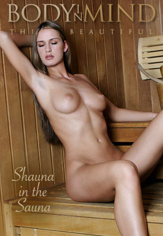 Shauna - `Shauna in the Sauna` - by Manfred Baumann for BODYINMIND