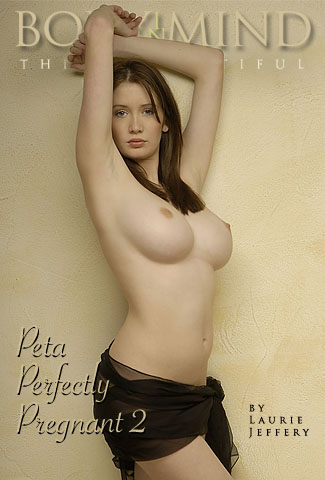 Peta - `Peta Perfectly Pregnant 2` - by Laurie Jeffery for BODYINMIND