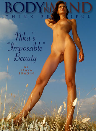 Nika - `Impossible Beauty` - by Slava Bragin for BODYINMIND