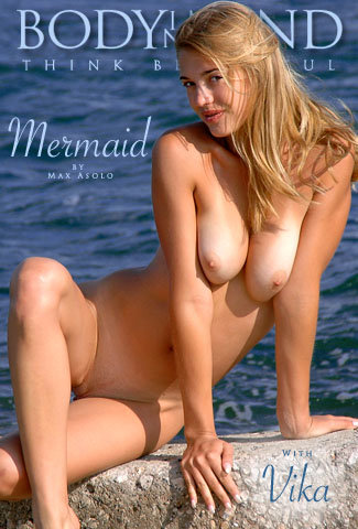 Vika - `Mermaid` - by Max Asolo for BODYINMIND
