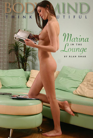 Marina - `In the Lounge` - by Alan Anar for BODYINMIND