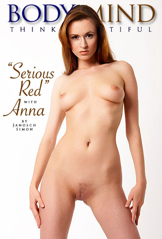 Anna - `Serious Red` - by Janosch Simon for BODYINMIND