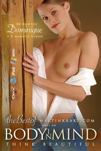 Dominique - `Best of MARTINKRAKE.COM` - by Martin Krake for BODYINMIND