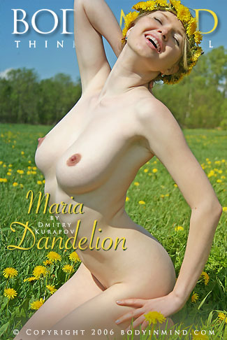Maria - `Dandelion` - by Dmitri Kuropov for BODYINMIND