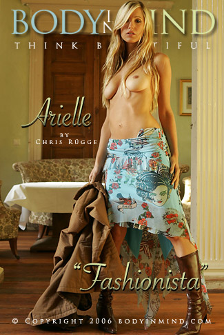 Arielle - `Fashionista` - by Chris Rugge for BODYINMIND