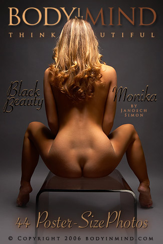 Monika - `Black Beauty` - by Janosch Simon for BODYINMIND