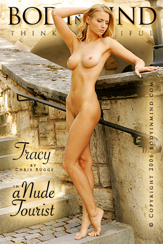 Tracy - `A Nude Tourist` - by Chris Rugge for BODYINMIND