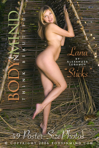 Lana - `Sticks` - by Alexander Lobanov for BODYINMIND