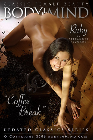 Ruby - `Coffee Break` - by Alexander Fedorov for BODYINMIND