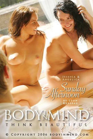 Jessica & Angelica - `Sunday Afternoon` - by Leon Russeau for BODYINMIND