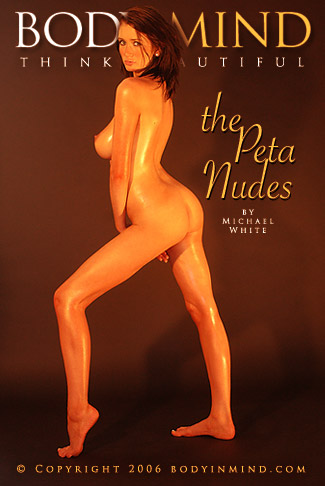 Peta - `the Peta Nudes` - by Michael White for BODYINMIND