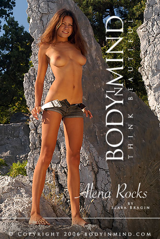 Alena - `Rocks` - by Slava Bragin for BODYINMIND
