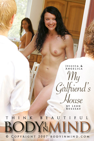 Jessica & Angelica - `My Girlfriend's House` - by Leon Russeau for BODYINMIND