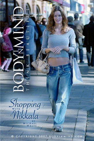 Nikkala - `Shopping` - by Michael White for BODYINMIND