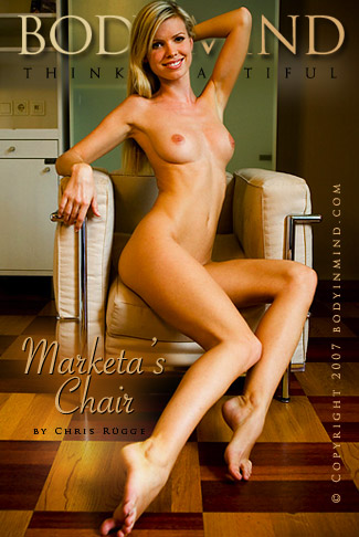 Marketa - `Marketa's Chair` - by Chris Rugge for BODYINMIND