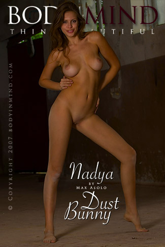 Nadya - `Dust Bunny` - by Max Asolo for BODYINMIND
