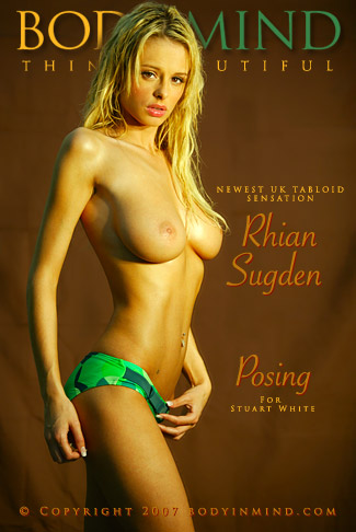 Rhian Sugden - `Posing` - by Stuart White for BODYINMIND