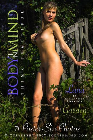 Lana - `Garden` - by Alexander Lobanov for BODYINMIND
