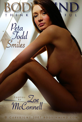 Peta Todd - `Smiles` - by Zoe McConnell for BODYINMIND