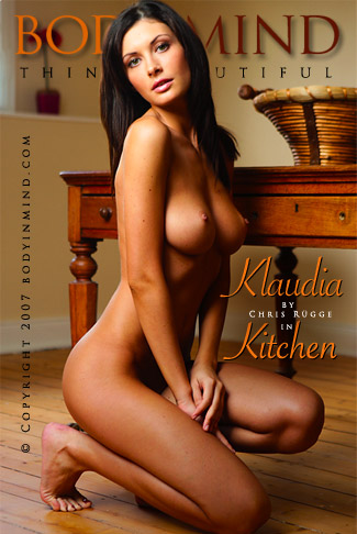 Klaudia - `Kitchen` - by Chris Rugge for BODYINMIND