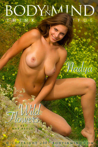 Nadya - `Wild Flowers` - by Max Asolo for BODYINMIND