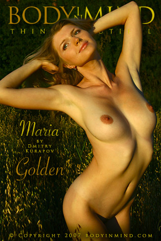 Maria - `Golden` - by Dmitri Kuropov for BODYINMIND