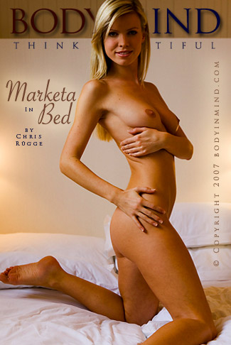 Marketa - `In Bed` - by Chris Rugge for BODYINMIND