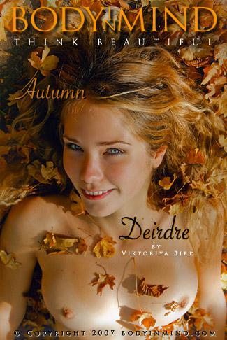 Deirdre - `Autumn` - by Victoria Bird for BODYINMIND