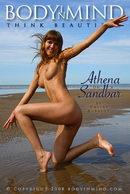 Athena On A Sandbar
