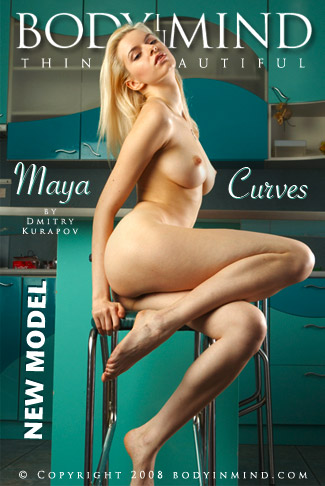 Maya - `Curves` - by Dmitri Kuropov for BODYINMIND