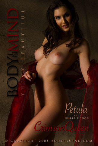 Petula - `Crimson Queen` - by Chris Rugge for BODYINMIND