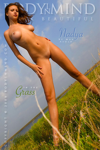 Nadya - `In The Grass` - by Max Asolo for BODYINMIND