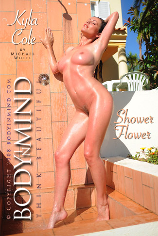 Kyla Cole - `Shower Flower` - by Michael White for BODYINMIND
