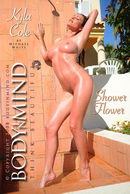Kyla Cole in Shower Flower gallery from BODYINMIND by Michael White