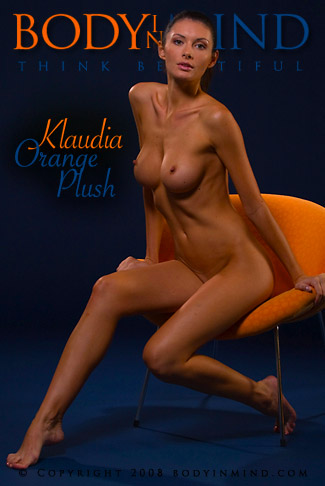Klaudia - `Orange Plush` - for BODYINMIND