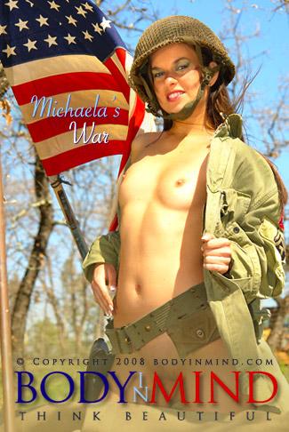 Michaela - `Michaela's War` - for BODYINMIND