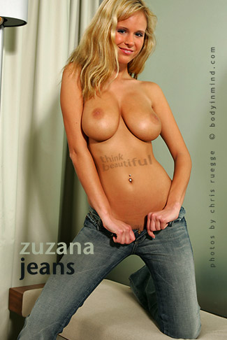 Zuzana - `Jeans` - by Chris Rugge for BODYINMIND