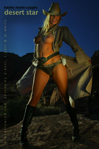 Marie Coppin - `Desert Star` - by Michael White for BODYINMIND