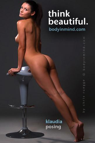 Klaudia - `Posing` - by Chris Rugge for BODYINMIND