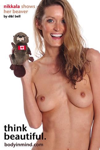 Nikkala Stott - `Beaver` - by D & L Bell for BODYINMIND