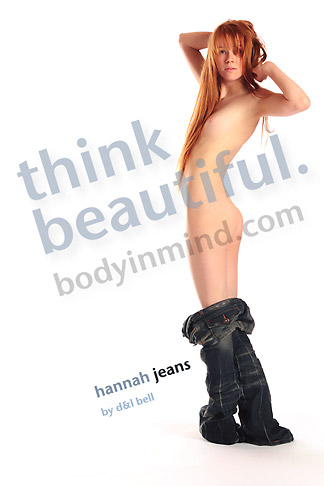Hannah - `Jeans` - by Dwayne and Leanne Bell for BODYINMIND